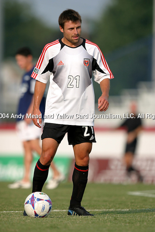 21 July 2004: Dema Kovalenko. The Richmond Kickers of the A-League defeated DC United of Major League Soccer 2-1 at University of Richmond Stadium in Richmond, VA in a fourth round game in the 2004 Lamar Hunt U.S. Open Cup..