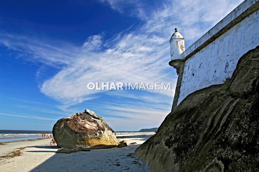 Fortaleza Nossa Sra dos Prazeres, Ilha do Mel. Paraná. 2008. Foto de Zig Koch.