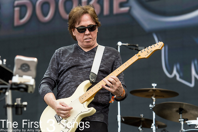 John McFee of The Doobie Brothers performs onstage during The Tortuga Music Festival in Fort Lauderdale, Florida.