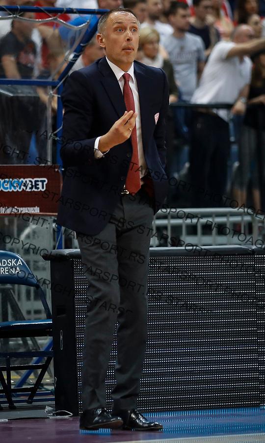 Kosarka Euroleague season 2016-2017<br /> Crvena Zvezda v Olympiacos (Athens)<br /> Milan Tomic<br /> Beograd, 22.03.2017.<br /> foto: Srdjan Stevanovic/Starsportphoto &copy;