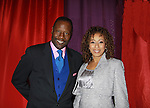 "On Feb 3, 2015 couple separates after 19 years of marriage - Gregory Generet poses with his wife As The World Turns Tamara Tunie who is the mistress of Cerermonies of the 15th Annual Hearts of Gold's Fall Fundraising Gala ""Arabian Nights!"" on November 3, 2011 at the Metropolitan Pavilion, New YOok City, New York. There was a coctail reception, silent auction, runway fashion show, and live auction which huge $s for Homeless mothers and children that Hearts of Gold Strives to support. (Photo by Sue Coflin/Max Photos)"