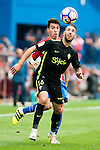 Atletico de Madrid's player XXX and Sporting de Gijon's XXX during a match of La Liga Santander at Vicente Calderon Stadium in Madrid. September 17, Spain. 2016. (ALTERPHOTOS/BorjaB.Hojas)