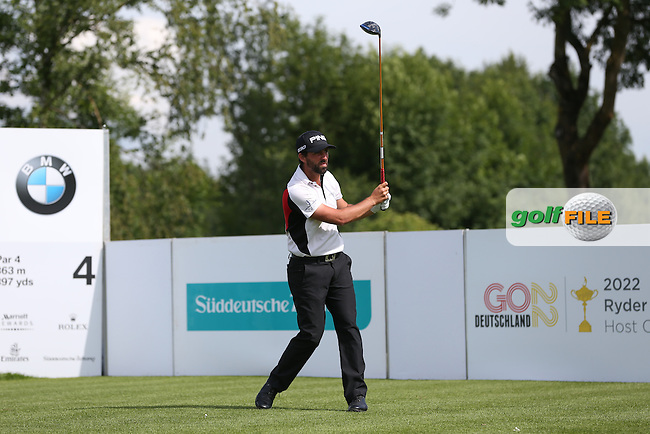 John Parry (ENG) drives from the 4th during Round One of the 2015 BMW International Open at Golfclub Munchen Eichenried, Eichenried, Munich, Germany. 25/06/2015. Picture David Lloyd | www.golffile.ie