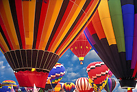 Albuquerque hot air balloon festival New Mexico USA  flying racing sport
