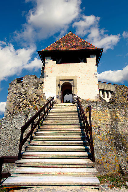 Visegrad Castle in the sky ( Visegrádi Vár - Fellegvár], Hungary