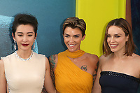 HOLLYWOOD, CA - August 6: Li Bingbing, Ruby Rose, Jessica McNamee, at Warner Bros. Pictures And Gravity Pictures' Premiere Of &quot;The Meg&quot; at TCL Chinese Theatre IMAX in Hollywood, California on August 6, 2018. <br /> CAP/MPI/FS<br /> &copy;FS/MPI/Capital Pictures