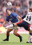 Rino Gattuso keeps his eye on the ball, Rangers season 1997