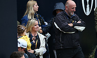 Father, Wife and child wait for Shane Lowry (IRL) at the tunnel as he wins the Final Round of the 148th Open Championship, Royal Portrush Golf Club, Portrush, Antrim, Northern Ireland. 21/07/2019. Picture David Lloyd / Golffile.ie<br /> <br /> All photo usage must carry mandatory copyright credit (© Golffile | David Lloyd)