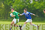 Finuge v Annascaul in the County League Division Two clash at Paddy Kennedy Memorial Park in Annascaul on Sunday.