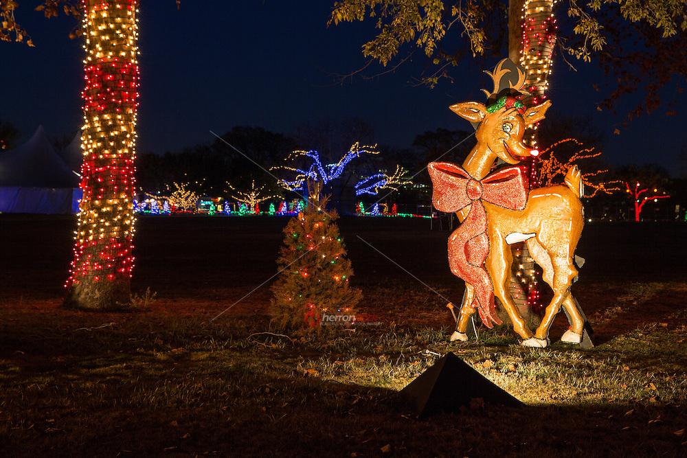 Zilker Park Trail of Lights Festival, Rudolph the Red-Nosed Reindeer