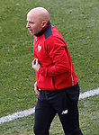 Sevilla FC's coach Jorge Sampaoli during La Liga match. March 19,2017. (ALTERPHOTOS/Acero)