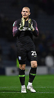 Preston North End's Connor Ripley applauds the fans after the game<br /> <br /> Photographer Dave Howarth/CameraSport<br /> <br /> The Carabao Cup Third Round - Preston North End v Manchester City - Tuesday 24th September 2019 - Deepdale Stadium - Preston<br />  <br /> World Copyright © 2019 CameraSport. All rights reserved. 43 Linden Ave. Countesthorpe. Leicester. England. LE8 5PG - Tel: +44 (0) 116 277 4147 - admin@camerasport.com - www.camerasport.com