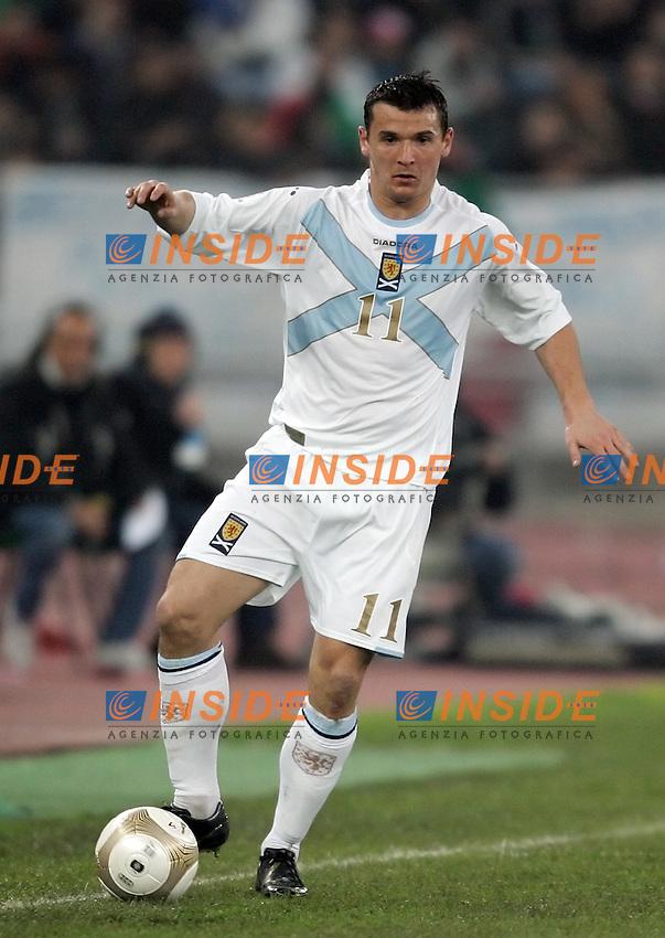 Lee McCulloch (Scotland)<br /> Uefa Euro 2008 Qualifying Group B<br /> 28 Mar 2007 (match day 5)<br /> Italy-Scotland 2-0 Italia-Scozia 2-0<br /> &quot;San Nicola&quot; Stadium-Bari-Italy<br /> Photographer Andrea Staccioli INSIDE