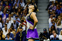 Elina Svitolina of Ukraine during her match against Serena Williams of the United States at Arthur Ashe Stadium at the USTA Billie Jean King National Tennis Center on September 05, 2019 in New York City.<br /> CAP/EL<br /> ©Elena Leoni/Capital Pictures