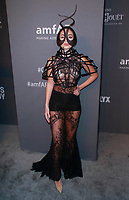 NEW YORK, NY - FEBRUARY 6: Megan Pormer arriving at the 21st annual amfAR Gala New York benefit for AIDS research during New York Fashion Week at Cipriani Wall Street in New York City on February 6, 2019. <br /> CAP/MPI99<br /> &copy;MPI99/Capital Pictures