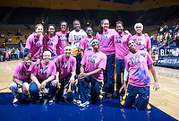 February 8th, 2013: California's women Basketball before start of the game against ASU at Haas Pavilion in Berkeley, Ca.   California defeated ASU 66 - 53