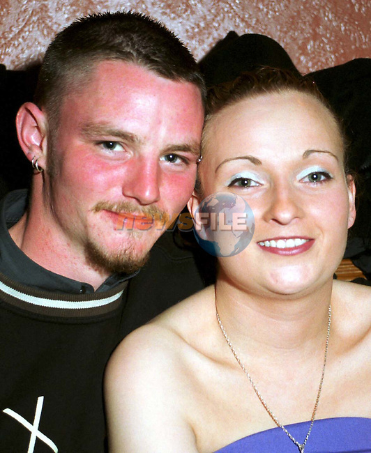Neill Murphy, Newry and Mandy Mccormack, Bay Estate at Yvonne Reynolds surprise 18th birthday party in Oriel Park.