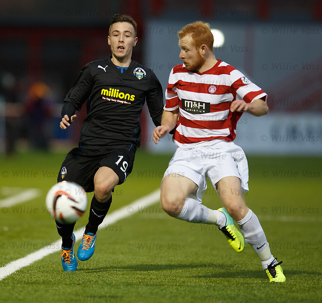 Barrie McKay and Ziggy Gordon
