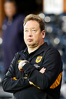 Leonid Slutsky manager of Hull City seen during the Sky Bet Championship match between Fulham and Hull City at Craven Cottage, London, England on 13 September 2017. Photo by Carlton Myrie.