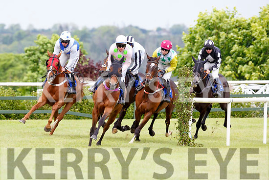 Action from the Killarney races on Sunday