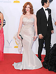 Christina Hendricks.. at The 64th Anual Primetime Emmy Awards held at Nokia Theatre L.A. Live in Los Angeles, California on September  23,2012                                                                   Copyright 2012 Hollywood Press Agency