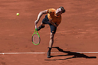Madrid Open tennis in Madrid. Karen Khachanov vs David Goffin