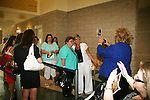 Guiding Light's Kim Zimmer and fans at Soapstar Spectacular presented by KDKA-TV stars Y&R, BB, GL and ATWT on June 13, 2010 at the Petersen Events Center, University of Pittsburgh, PA and benefited the Susan G. Komen for the Cure Pittsburgh Affiliate. (Photo by Sue Coflin/Max Photos)