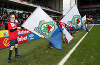Blackburn Rovers Guard of Honour<br /> <br /> Photographer Rachel Holborn/CameraSport<br /> <br /> The EFL Sky Bet League One - Blackburn Rovers v Blackpool - Saturday 10th March 2018 - Ewood Park - Blackburn<br /> <br /> World Copyright &copy; 2018 CameraSport. All rights reserved. 43 Linden Ave. Countesthorpe. Leicester. England. LE8 5PG - Tel: +44 (0) 116 277 4147 - admin@camerasport.com - www.camerasport.com