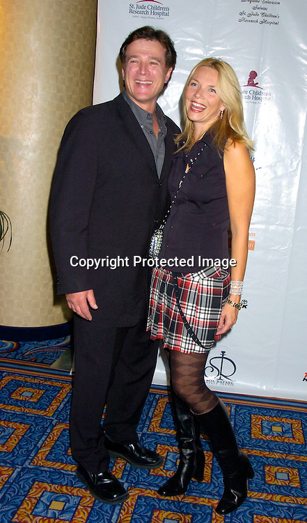 Frank Dicopoulos and wife Teja ..at the 10th Annual Daytime Television Salutes St. Jude Children's Research Hospital Benefit on October 8, 2004 at the Marriott Marquis Hotel in New York City...Photo by Robin Platzer, Twin Images