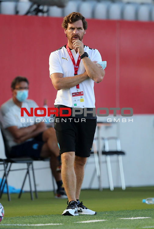 Andre Villas-Boas head coach of Olympique Marseille<br /><br />Testspiel Audi Football Summit FC Bayern Muenchen - Olympique Marseille  auf dem FC Bayern Campus<br />Saisonvorbereitung  2020 / 2021  <br /><br />Foto : Stefan Matzke / sampics / Pool via nordphoto / Bratic<br /><br />Nur für journalistische Zwecke ! Only for editorial use !<br /><br />DFL regulations prohibit any use of photographs as image sequences and/or quasi-video