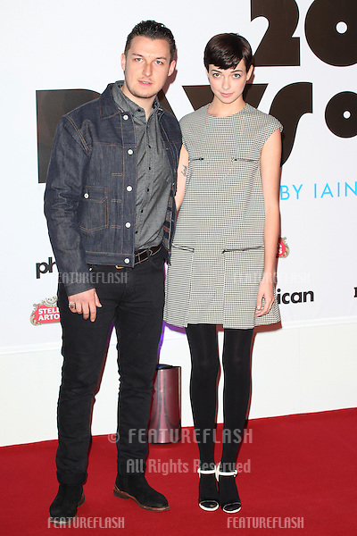 Breana McDow and Matt Helders attend the '20,000 Days on Earth' Gala preview screening at Barbican Centre, London. 17/09/2014 Picture by: Alexandra Glen / Featureflash