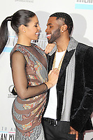 LOS ANGELES, CA - NOVEMBER 18: Jordin Sparks and Jason Derulo at the 40th American Music Awards held at Nokia Theatre L.A. Live on November 18, 2012 in Los Angeles, California. Credit: mpi20/MediaPunch Inc. NortePhoto