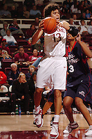 13 November 2005: Cissy Pierce during Stanford's 92-65 win over Love and Basketball at Maples Pavilion in Stanford, CA.