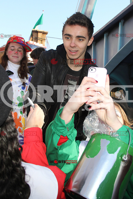 NEW YORK, NY - NOVEMBER 22: The Wanted at the 86th Annual Macy's Thanksgiving Day Parade on November 22, 2012 in New York City. Credit: RW/MediaPunch Inc. /NortePhoto