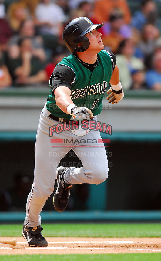 6 May 2007: Brian Bocock from a game between the Greenville Drive, Class A affiliate of the Boston Red Sox, and the Augusta GreenJackets at West End Field in Greenville, S.C. Photo by:  Tom Priddy/Four Seam Images