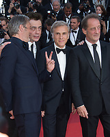 Mads Mikkelsen, Benicio del Toro, Christoph Waltz &amp; Vincent Lindon at the 70th Anniversary Gala for the Festival de Cannes, Cannes, France. 23 May 2017<br /> Picture: Paul Smith/Featureflash/SilverHub 0208 004 5359 sales@silverhubmedia.com