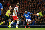 25.10.18 Rangers v Spartak Moscow: Ovie Ejaria shoots