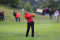 Oscar Lengden (SWE) on the 5th fairway during Round 3 of the D+D Real Czech Masters at the Albatross Golf Resort, Prague, Czech Rep. 02/09/2017<br /> Picture: Golffile | Thos Caffrey<br /> <br /> <br /> All photo usage must carry mandatory copyright credit     (&copy; Golffile | Thos Caffrey)