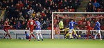 06.02.2019 Aberdeen v Rangers: Sam Cosgrove scores from the rebound