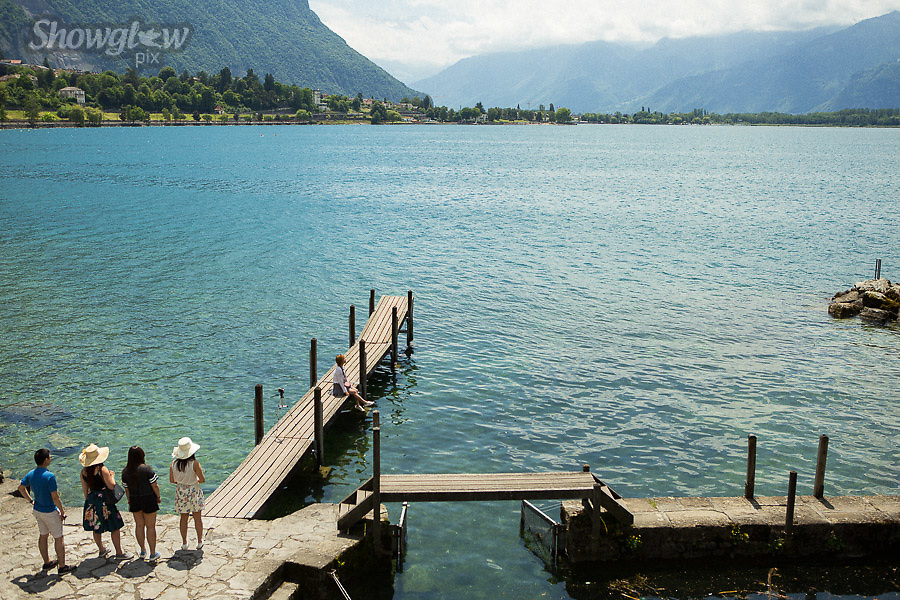 Image Ref: SWISS103<br /> Location: Montreaux, Switzerland<br /> Date of Shot: 25th June 2017