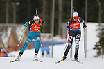09/12/2016, Pokljuka - IBU Biathlon World Cup.<br />  competes at the sprint race in Pokljuka, Slovenia on 09/12/2016.