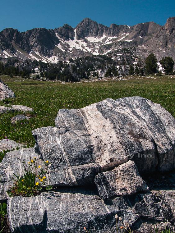 Beehive Basin,Madison Mountain Range,Montana