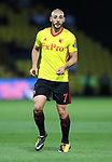 Watford's Nordim Amrabat in action during the Carabao cup match at Vicarage Road Stadium, Watford. Picture date 22nd August 2017. Picture credit should read: David Klein/Sportimage