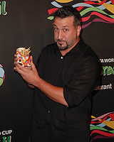 New York, NY -  June 5 : Joey Fatone attends the 2014 FIFA World Cup McDonald's Launch Party at Pillars 38 on June 5, 2014 in New York City. Photo by Brent N. Clarke / Starlitepics