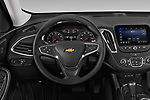 Car pictures of steering wheel view of a 2020 Chevrolet Malibu LT 4 Door Sedan