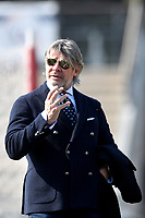 Former AS Roma player and manager Sebino Nela gestures  prior to the Women Italy cup round of 8 second leg match between AS Roma and Roma Calcio Femminile at stadio delle tre fontane, Roma, February 20, 2019 <br /> Foto Andrea Staccioli / Insidefoto