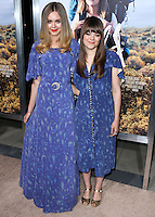 BEVERLY HILLS, CA, USA - NOVEMBER 19: First Aid Kit, Johanna Soderberg, Klara Soderberg arrive at the Los Angeles Premiere Of Fox Searchlight Pictures' 'Wild' held at the AMPAS Samuel Goldwyn Theater on November 19, 2014 in Beverly Hills, California, United States. (Photo by Xavier Collin/Celebrity Monitor)