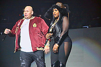 PHILADELPHIA, PA - OCTOBER 28 :  Fat Joe and Remy Ma performing at Powerhouse 2016 at the Wells Fargo Center in Philadelphia, Pa on October 28, 2016  photo credit Star Shooter/MediaPunch