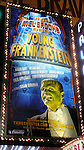 Promotional Billboard for - The musical Young Frankenstein, which features music by Mel Brooks, book by Brooks and Thomas Meehan based on Brooks' 1974 film, and direction and choreography by Susan Stroman. Hilton Theatre in New York City..October 27, 2007.© Walter McBride /
