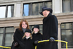 Country Singer Trace Adkins (on Y & R) and the Apprentice with wife Rhonda and daughters Mackenzie (older) & Brianna at the Macy's Thanksgiving Day Parade on November 27, 2008 in New York City, NY. (Photo by Sue Coflin/Max Photos)